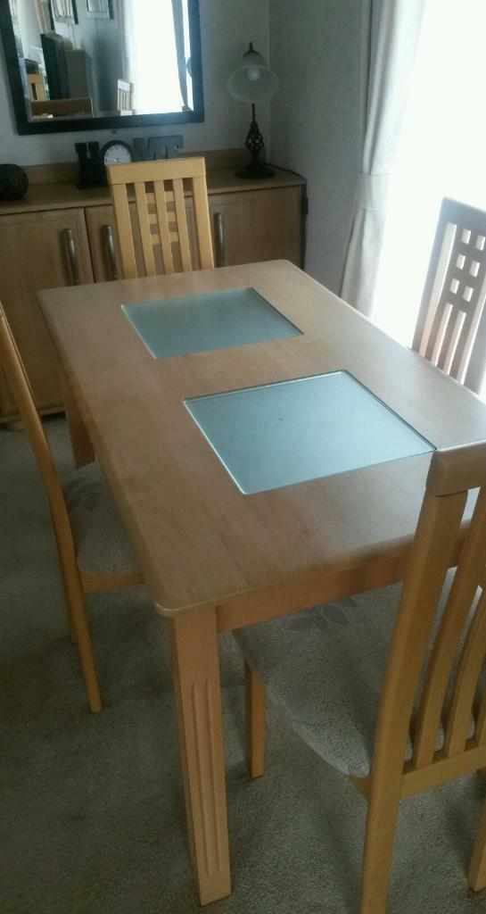 dining room table and 4 chairs in cirencester gloucestershire
