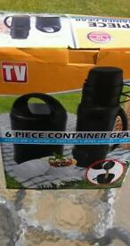 6 piece container gear brand New