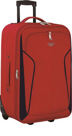 Travel luggage trolley suitcase (20 INCHES, RED). Brand New.