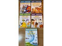 Set of 5 x Hot Topics Kids Fact Books