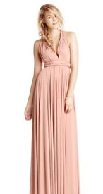 Two Bird Blush Bridesmaid/Prom/Occassion Dress - Size B (18-24)