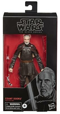 Star Wars Black 6 inch Count Dooku (Number 107) NIB 2020 In Hand