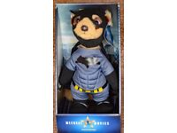 Limited Edition Aleksander Meerkat Batman Movie Collectable Soft Toy