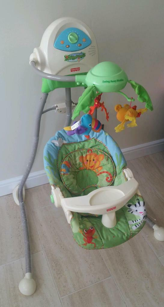 Fisher price baby bouncer in stoke on trent for Door jumperoo