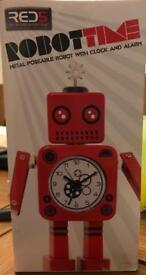 Red5 Robot Time Clock and Alarm
