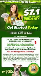 Start Your Own CBD Oil Business from Home! Join HempWorx Global, #1 on Leaderboard