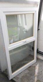 Two UPVC Windows in good condition