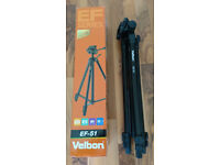 VELBON EF-51 Tripod Suitable for compact & compact system & DSLR cameras