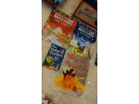 4 book bundle new to used condition for children