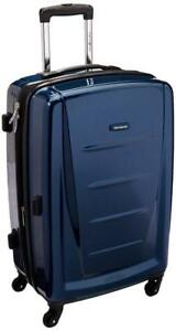 "NEW Samsonite Winfield 2 Hardside 24"" Luggage, Deep Blue"