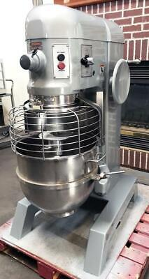 Hobart H-600 Bakery Restaurant Equipment 60 Quart Dough Food Mixer Bowl Hook