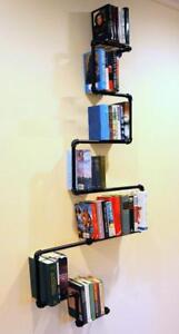 Retro Artistic Iron Pipe Bookshelf(020024)