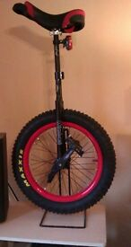 """19"""" NIMBUS 'INFERNO' TRIALS UNICYCLE - Collection from Newmarket Suffolk CB8 7AT"""