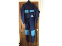 Wetsuit - Gul longjohn with zip - XL