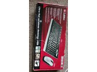 Labtec Wireless Keyboard and Mouse Combo Set ,Black (CHARITY WORK)