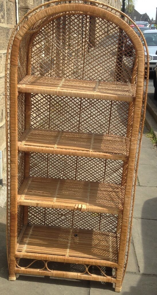 Wicker Shelf Unit In Otley West Yorkshire Gumtree