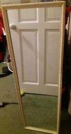 Large 3ftx1ft Framed Mirror