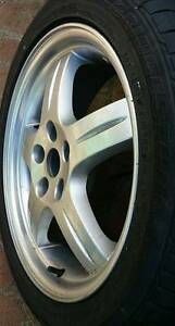 1x 17inch Mitsubishi Magna VRX Alloy Wheel USED 17X 7  225 45 17 Georges Hall Bankstown Area Preview