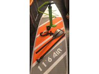 """2018 Brand New* Air Inflatable Stand Up Paddle Board 11'6 x 31"""" INC Paddle, Backpack, Pump & Leash"""