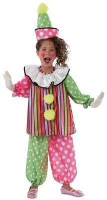 Kleinkind Giggles der Clown Süß und Bunt - Süße Clown Kostüm Kleinkind