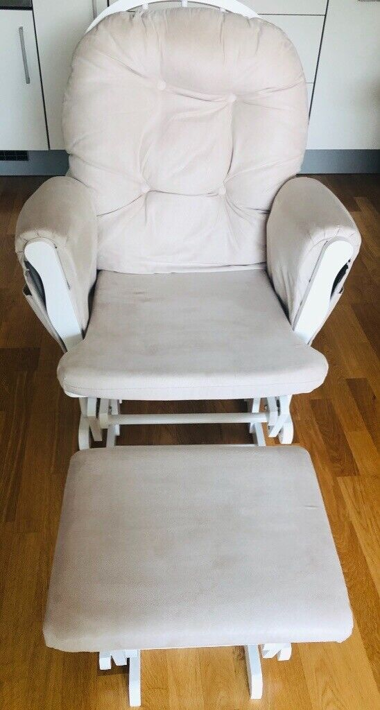 Fabulous Kub Haywood Glider Nursing Chair Footstool In Islington London Gumtree Cjindustries Chair Design For Home Cjindustriesco