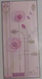 Bothy Threads Evening Rose (Derwentwater Designs, Mackintosh) Cross Stitch Kit