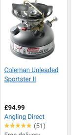 Coleman burner