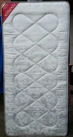 spring single mattress. 18cm thick. In good clean condition.