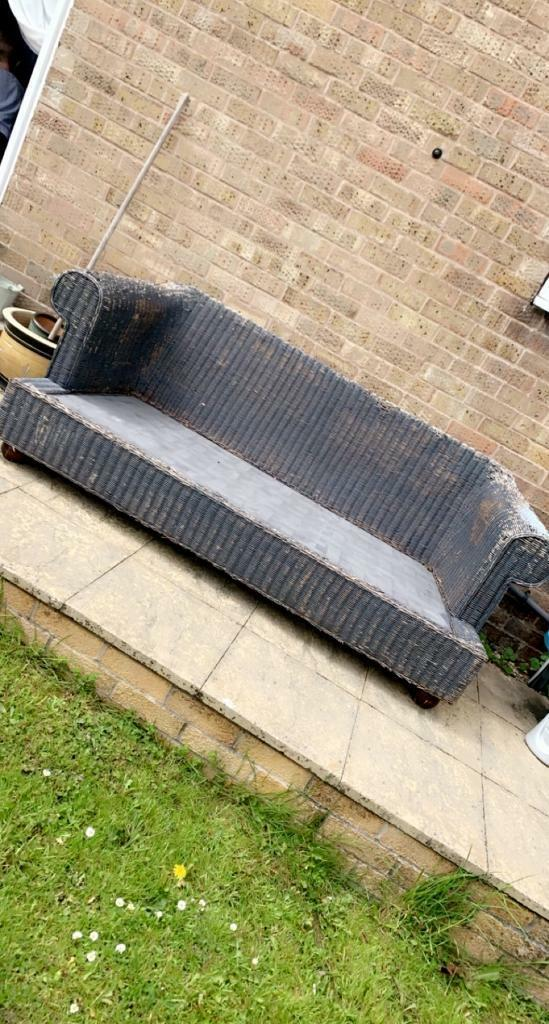 FREE out door wicker sofa