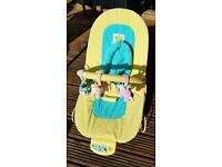 Mamas & Papas Soft Plush Baby Bouncer in Great Condition