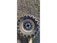 12 inch quad rim and tyre