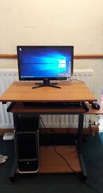 Desktop PC - Windows 10 / Microsoft Office 2010