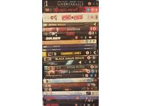 Over 80 dvds