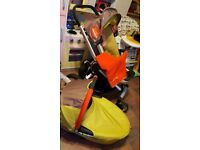 Quinny buzz pushchair & carrycot