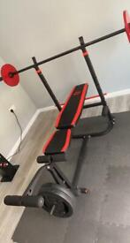 Weights and weights Bench