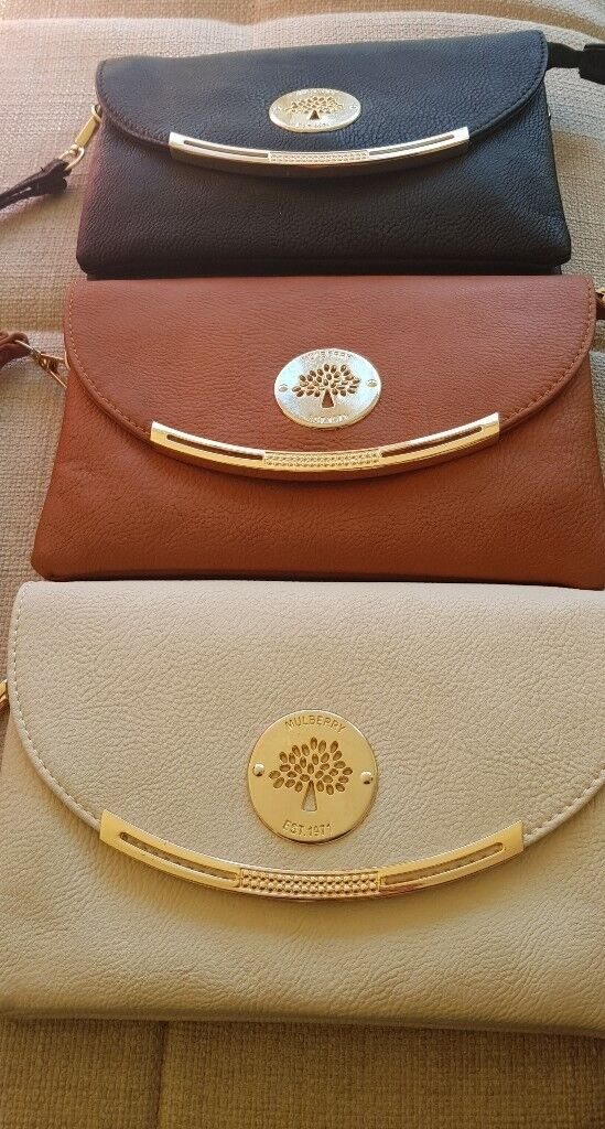 cfc07db76d Ladies cross body mulberry style bag with wrist strap | in Barrhead ...