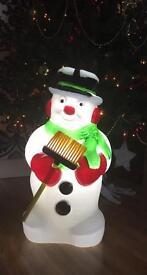 BRAND NEW Premier 59cm Lit Snowman