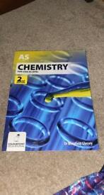 CCEA AS CHEMISTRY TEXTBOOK