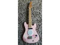 Music Alley Pink Electric Guitar