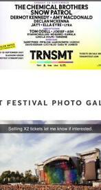 X2 tickets for TRNSMT GLASGOW