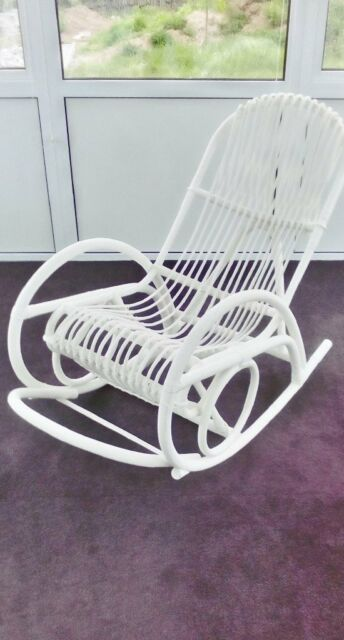 Astonishing Large Rattan Rocking Chair In Padstow Cornwall Gumtree Dailytribune Chair Design For Home Dailytribuneorg