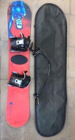 Snow Board and complete gear (Used)