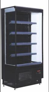 GRAB AND GO OPEN REFRIGERATED MERCHANDISER - 2 SIZES TO CHOOSE FROM - BRAND NEW  - FREE SHIPPING