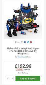 Imaginext Robo Batcave