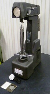 Wilson 4ous Superficial Rockwell Hardness Tester N T Scale Dial Astm Certified