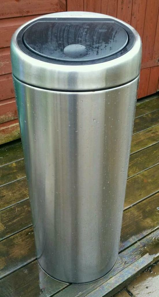 Brabantia silver kitchen waste bin..30 litres..SOLD AWAITING COLLECTION