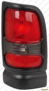 Tail Lamp Passenger Side Without Sport Dodge Ram 1994-2002
