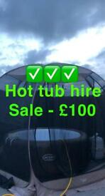 Hot tub hire / jacuzzi hire / lay z spa / party hire - hot tub rental