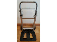 Sack Truck Trolley - Foldable & Extendable - 90KG Max Load Warehouse Appliance Handtruck