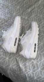 AirMax white size 9 mens
